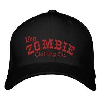Casquillo 003A de Von Zombie Skull Gorra Bordada