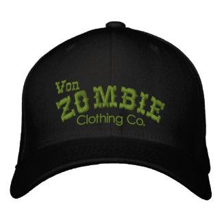 Casquillo 003B de Von Zombie Skull Gorra De Beisbol