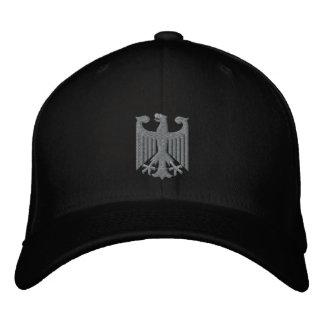 "Casquillo alemán de Emboidered del ""escudo de arma Gorra Bordada"
