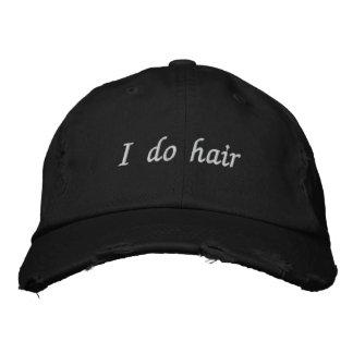 casquillo apenado gorra bordada