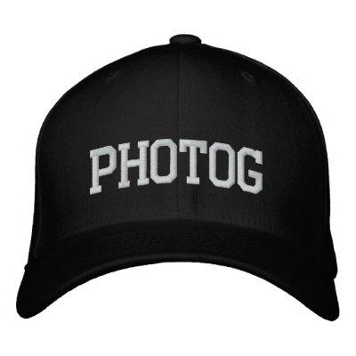 Casquillo blanco y negro de Photog Gorra De Béisbol