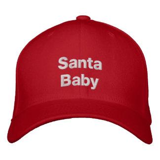 Casquillo bordado bebé de Santa Gorra De Béisbol