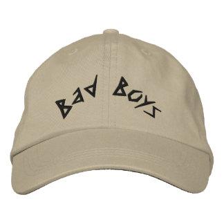 Casquillo bordado chicos malos gorra de béisbol bordada