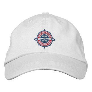 Casquillo bordado de la bola del logotipo del gorra bordada