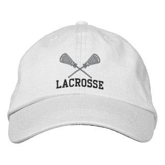 Casquillo bordado de LaCrosse Gorra De Beisbol Bordada