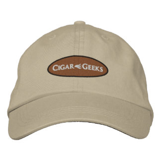 Casquillo bordado frikis del cigarro con el gorra de beisbol bordada