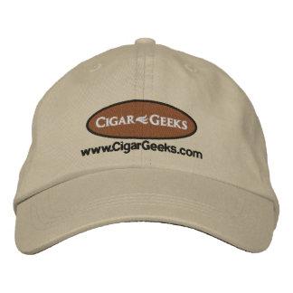Casquillo bordado frikis del cigarro con el logoti gorras bordadas