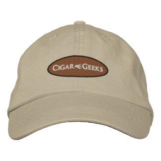 Casquillo bordado frikis del cigarro con el logoti gorra de beisbol bordada