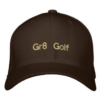 Casquillo bordado golf de Gr8 Brown Gorra De Béisbol Bordada