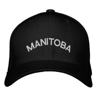Casquillo bordado gorra de béisbol de Manitoba