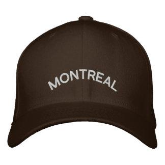 Casquillo bordado gorra de béisbol de Montreal Can