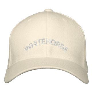 Casquillo bordado gorra de béisbol de Whitehorse C