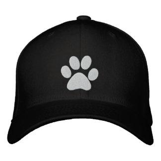 Casquillo bordado pata del perro gorra de béisbol bordada