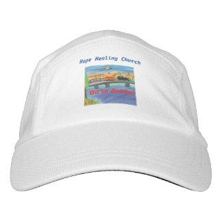 Casquillo curativo del gorra de béisbol del tren