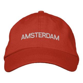 Casquillo de Amsterdam Gorra Bordada