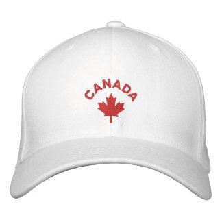 Casquillo de Canadá - gorra rojo de la hoja de