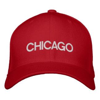 Casquillo de Chicago Gorros Bordados