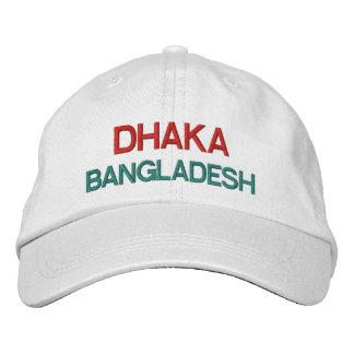 Casquillo de Dacca Bangladesh Emroidred Gorros Bordados