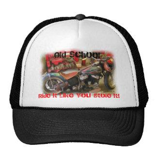Casquillo de escuela vieja gorras de camionero