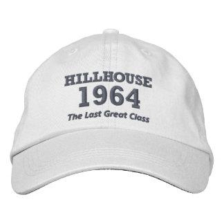 Casquillo de Hillhouse de lujo '64 con el texto Gorra De Beisbol Bordada