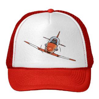 Casquillo de la aviación del dibujo animado de las gorro