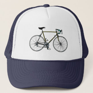 Casquillo de la bicicleta gorra de camionero