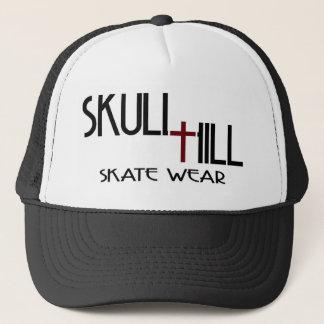 Casquillo de la colina del cráneo gorra de camionero