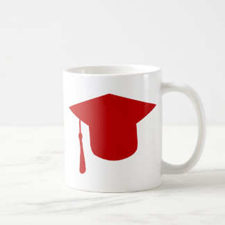 Casquillo de la graduación taza de café
