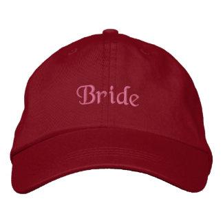 Casquillo de la novia gorra de béisbol bordada