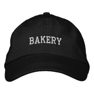 Casquillo de la panadería gorras de béisbol bordadas