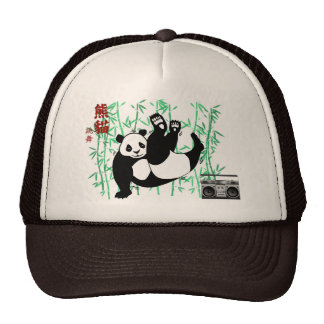 Casquillo de la panda de Hip Hop Gorra