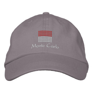 Casquillo de Monte Carlo - gorra de la bandera de