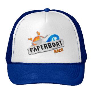 Casquillo de papel de la regata gorras