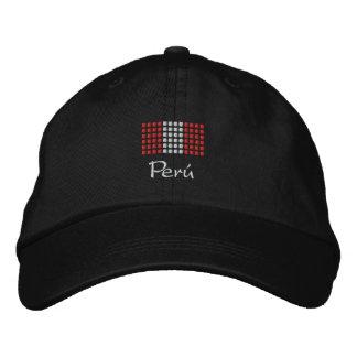 Casquillo de Perú - gorra peruano de la bandera