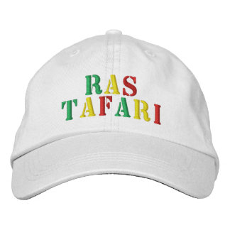 Casquillo de Ras Tafari Gorro Bordado