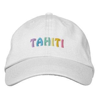 Casquillo de TAHITÍ 2 Gorras De Béisbol Bordadas