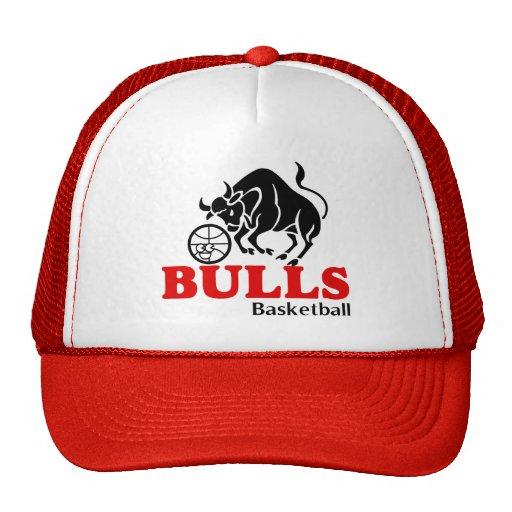 Casquillo del baloncesto de los toros gorras