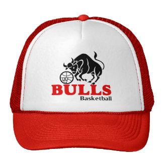 Casquillo del baloncesto de los toros gorros bordados