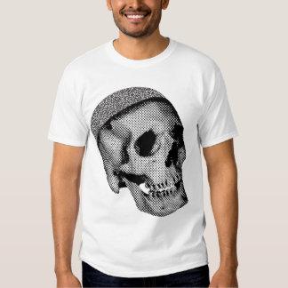Casquillo del cráneo camisetas