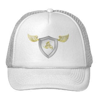 Casquillo del escudo de Valhalla Viking Gorro De Camionero
