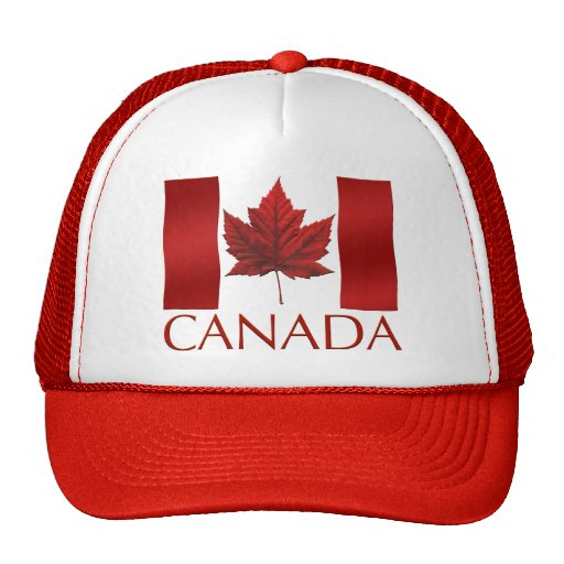 Casquillo del recuerdo de Canadá del gorra del cam
