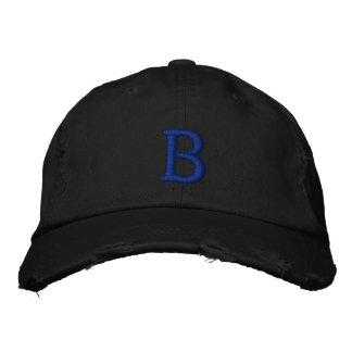 Casquillo del vintage de la escuela vieja de gorra de beisbol bordada