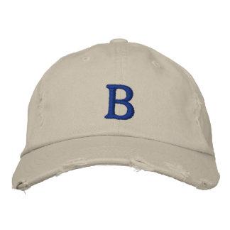 Casquillo del vintage de la escuela vieja de gorras bordadas