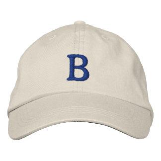 Casquillo del vintage de la escuela vieja de gorra bordada