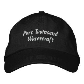 Casquillo del Watercraft de Townsend del puerto Gorras Bordadas