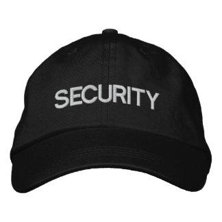 Casquillo/gorra ajustables del equipo de seguridad gorras bordadas