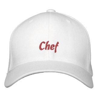 Casquillo/gorra del cocinero gorro bordado