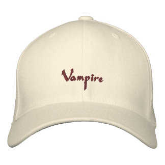 Casquillo/gorra del vampiro gorras bordadas