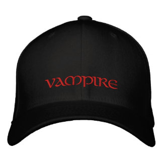 Casquillo/gorra del vampiro gorras de béisbol bordadas