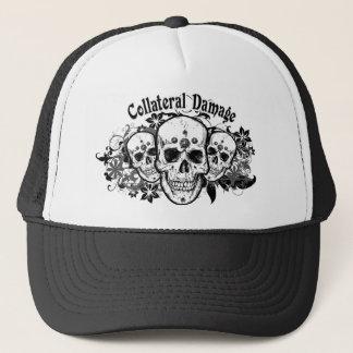 Casquillo hawaiano del camionero de los cráneos gorra de camionero